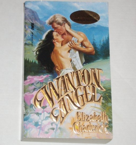 Wanton Angel by Elizabeth Chadwick Historical Western Romance 1989