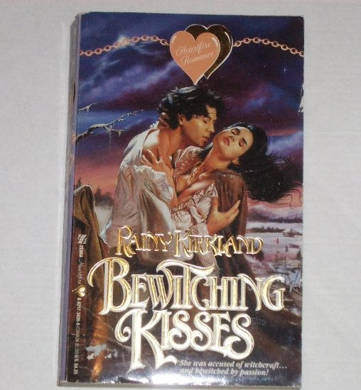Bewitching Kisses RAINY KIRKLAND Zebra Heartfire Colonial Romance 1991 Sarah/Nicholas Series