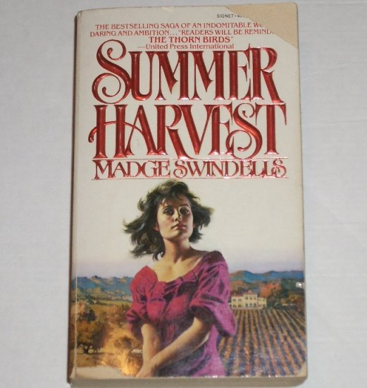 Summer Harvest by MADGE SWINDELLS Turn of the Century Romance 1983