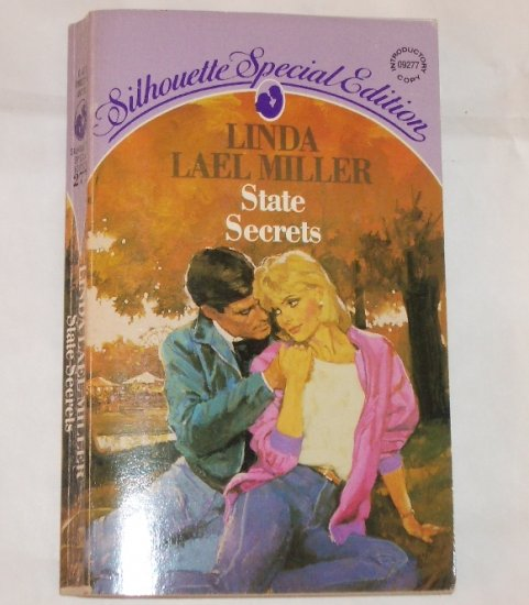 State Secrets by LINDA LAEL MILLER Vintage Silhouette Special Edition 277 1986