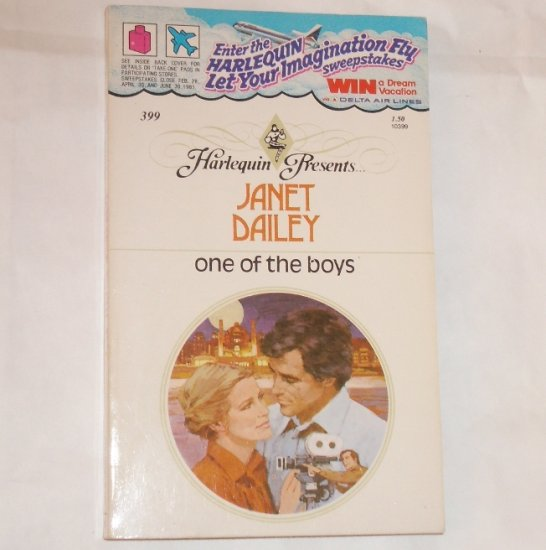 One of the Boys by Janet Dailey Vintage Harlequin Presents 399 1980