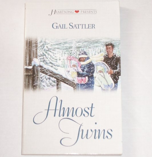 Almost Twins by GAIL SATTLER Heartsong Presents No 406 Christian Romance 2000