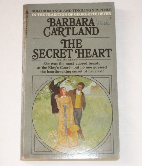 The Secret Heart by BARBARA CARTLAND Historical Romance 1970