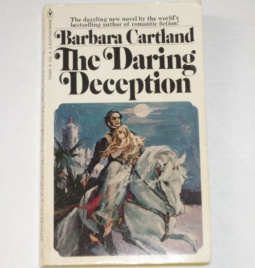 The Daring Deception by BARBARA CARTLAND Historical Romance 1973