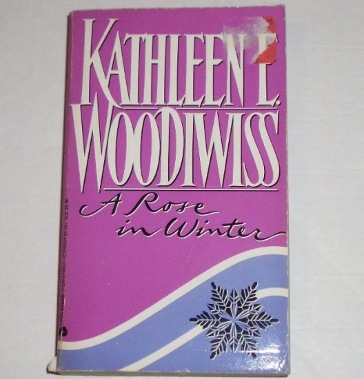 A Rose in Winter by Kathleen E. Woodiwiss Historical English Georgian Romance 1983 A Top Pick