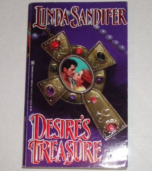 Desire's Treasure by LINDA SANDIFER Historical Western Romance 1995
