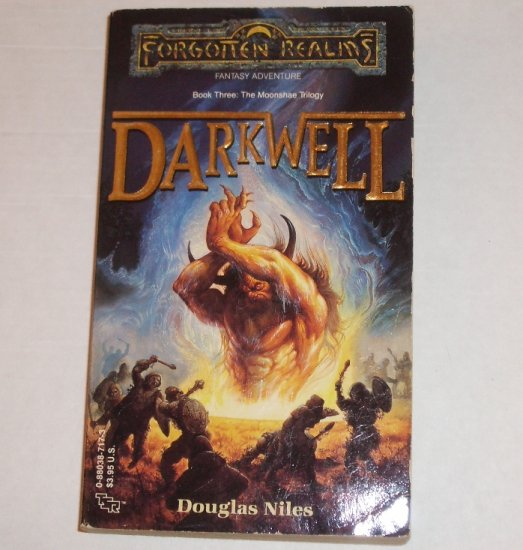 Darkwell Forgotten Realms Moonshae Trilogy by DOUGLAS NILES 1989