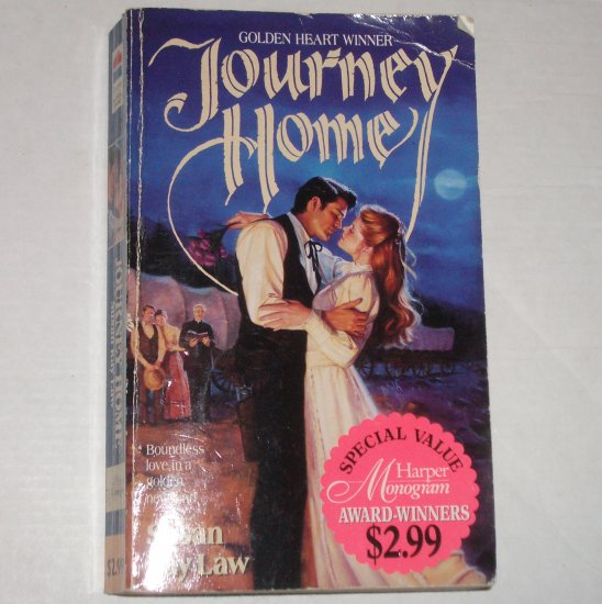 Journey Home by SUSAN KAY LAW Historical Western Romance 1994