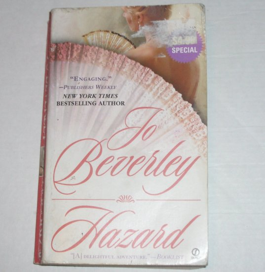 Hazard by JO BEVERLEY Historical Regency Romance 2002 Company of Rogues Series