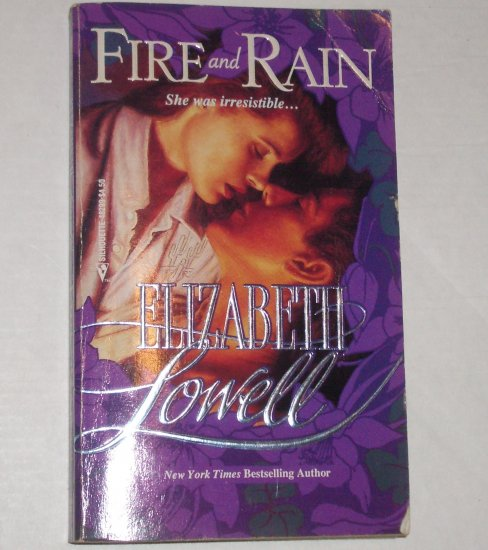 Fire and Rain by Elizabeth Lowell Romance 1990 MacKenzie-Blackthorn Series