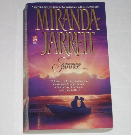 Sunrise by MIRANDA JARRETT Historical Colonial Romance 2000