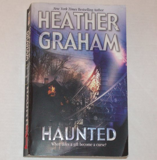Haunted by HEATHER GRAHAM Contemporary Paranormal Romance 2003 Harrison Investigations Series