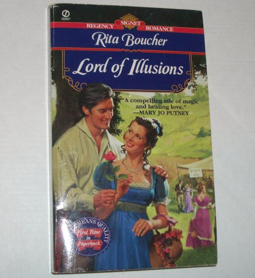 Lord of Illusions by RITA BOUCHER Slim Signet Historical Regency Romance 1998