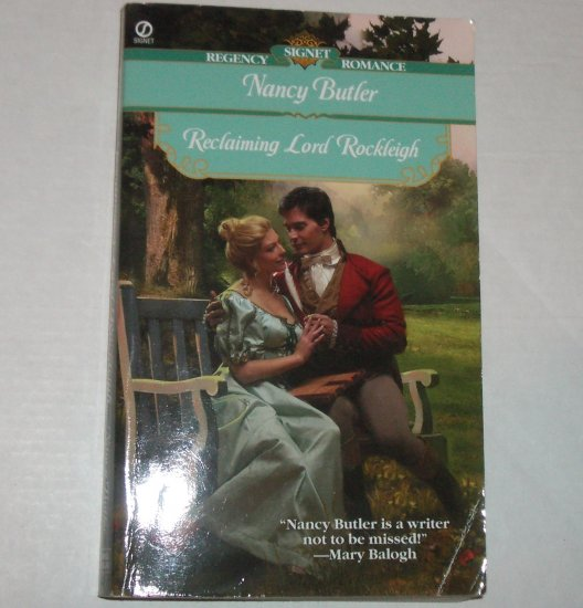 Reclaiming Lord Rockleigh by NANCY BUTLER Slim Signet Historical Regency Romance 2001