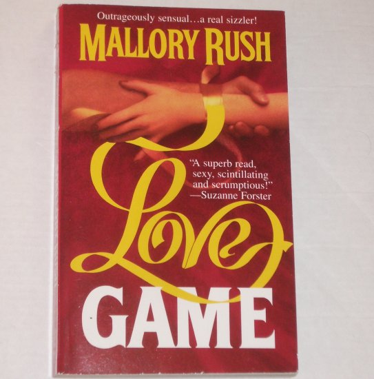 Love Game by MALLORY RUSH Contemporary Romance 1995