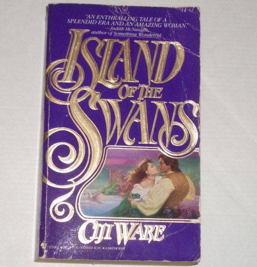 Island of the Swans by CIJI WARE Historical Scottish Romance 1989