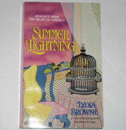 Summer Lightning by LYDIA BROWNE Homespun Historical Western Romance 1995