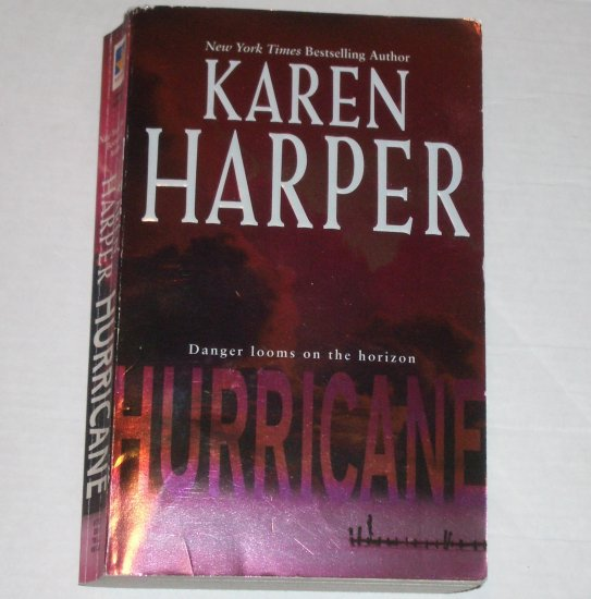 Hurricane by KAREN HARPER Romantic Suspense 2006