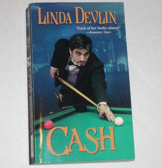 Cash by LINDA DEVLIN Zebra Ballad Historical Western Romance 2002
