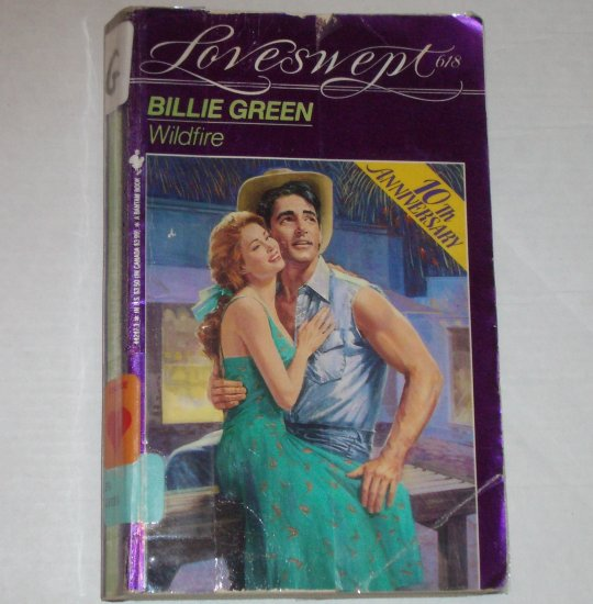 Wildfire by BILLIE GREEN Loveswept No 618 Western Romance 1993