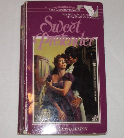 Sweet Pretender by VIOLET HAMILTON Zebra Historical Regency Romance 1986
