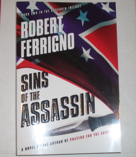 Sins of the Assassin ROBERT FERRIGNO Advance Reading Copy 2008