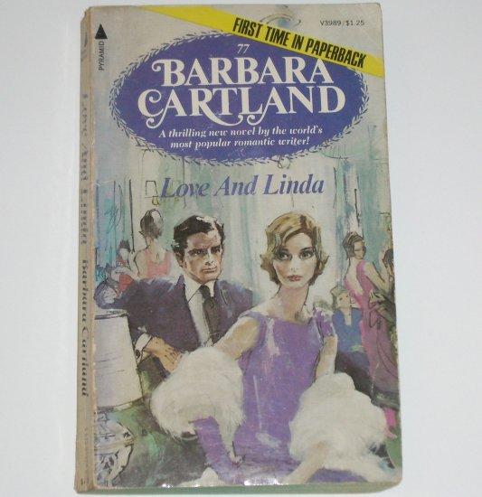 Love and Linda by BARBARA CARTLAND Romance 1976