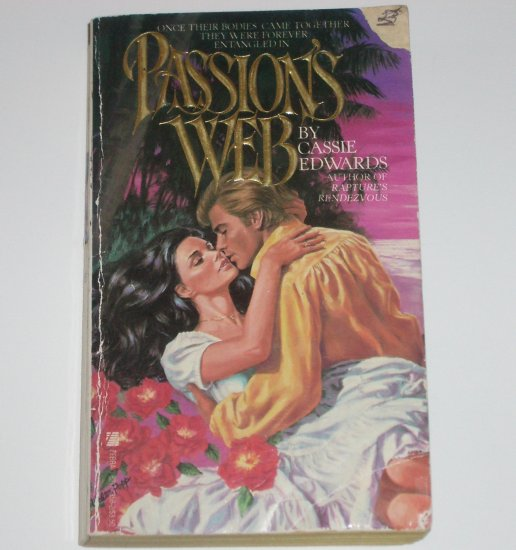 Passion's Web by CASSIE EDWARDS Historical Pirate Romance 1984