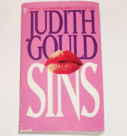 Sins by JUDITH GOULD 1982