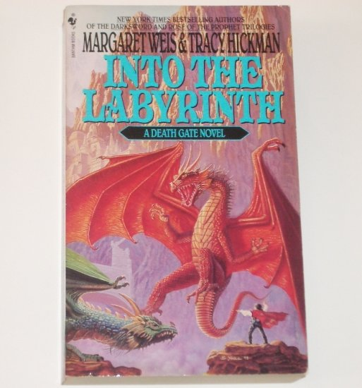 Into the Labyrinth by Margaret Weis, Tracy Hickman 1994 A Death Gate Novel