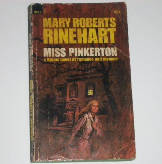 Miss Pinkerton by MARY ROBERTS RINEHART Gothic Romantic Suspense 1969