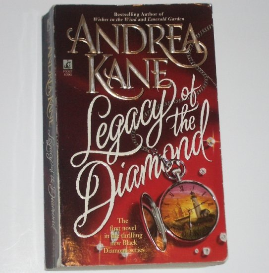 Legacy of the Diamond by ANDREA KANE Historical Regency Romance 1997 Black Diamond Series