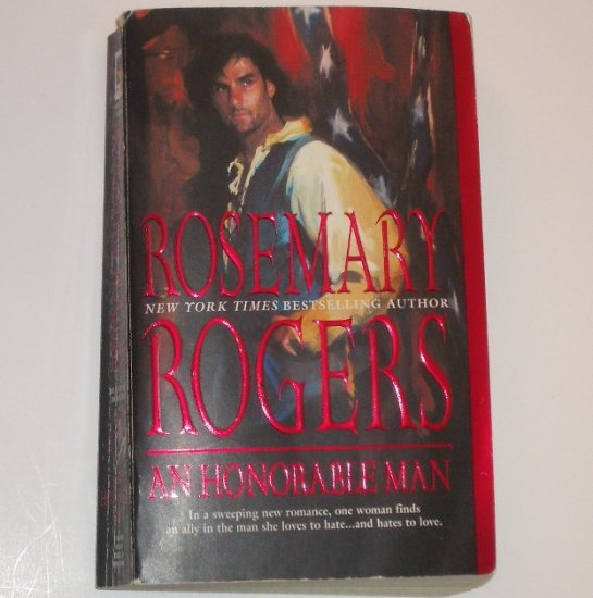 An Honorable Man by ROSEMARY ROGERS Historical Civil War Romance 2002