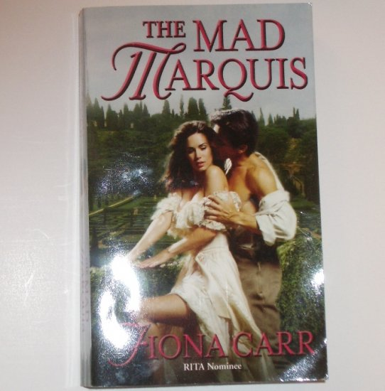 The Mad Marquis by FIONA CARR Historical Regency Romance 2003