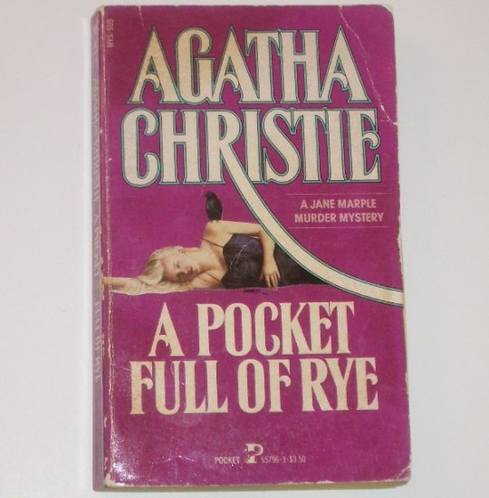 A Pocketful of Rye by AGATHA CHRISTIE Miss Marple Mystery 1986