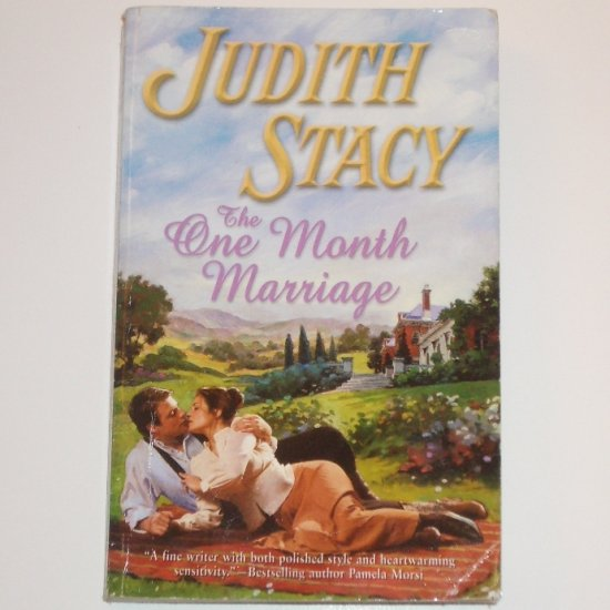 The One Month Marriage by JUDITH STACY Harlequin Historical Western Romance 2004
