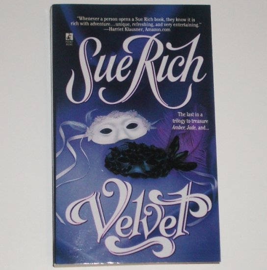 Velvet by SUE RICH Historical Romance Paperback 1998