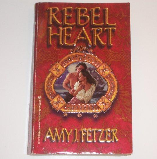 Rebel Heart by AMY J FETZER Historical Revolutionary War Romance 1998