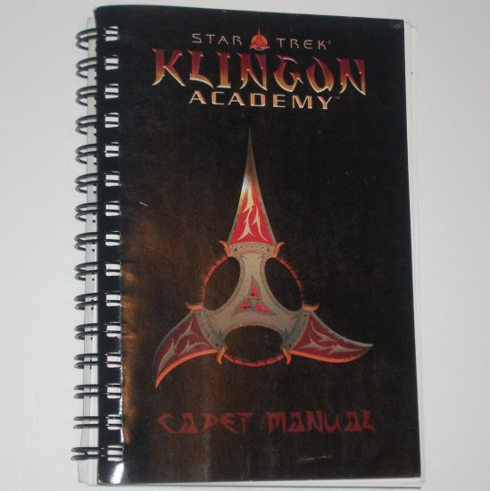 Star Trek Klingon Academy Cadet Manual for the Klingon Academy Video Game