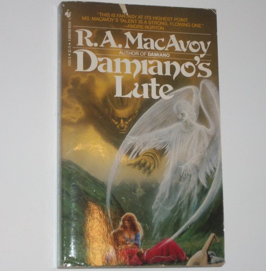 Damiano's Lute by R A MacAVOY Fantasy 1984 Damiano Series