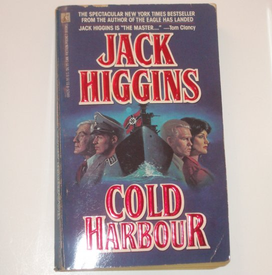 Cold Harbour by JACK HIGGINS Craig Osbourne Spy Thriller 1990