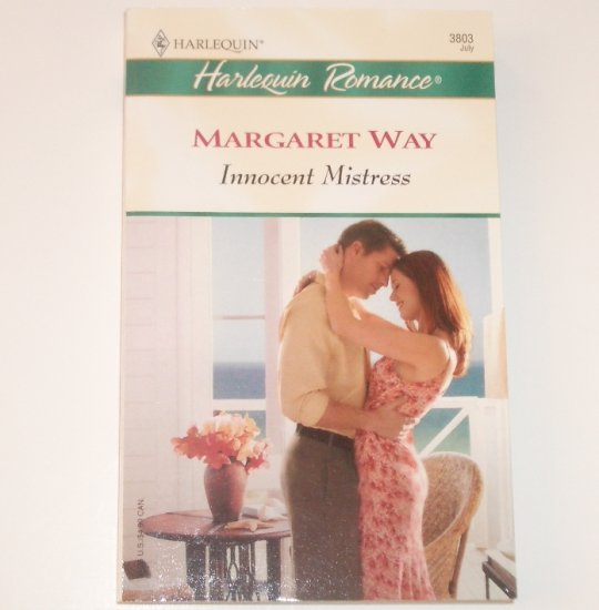 Innocent Mistress by MARGARET WAY Harlequin Romance 3803 Jul 2004