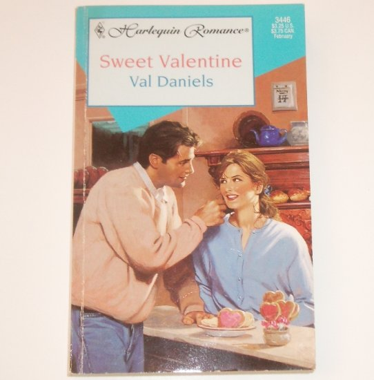 Sweet Valentine by VAL DANIELS Harlequin Romance 3446 Feb 1997