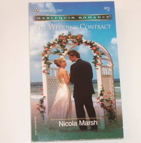 The Wedding Contract by Nicola Marsh Harlequin Romance 3818 Oct 2004