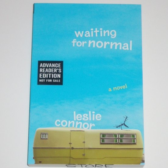 Waiting for Normal by LESLIE CONNOR Advance Reader's Edition ARC 2008 Childrens Book
