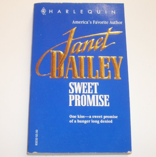 Sweet Promise by Janet Dailey Romance 1993