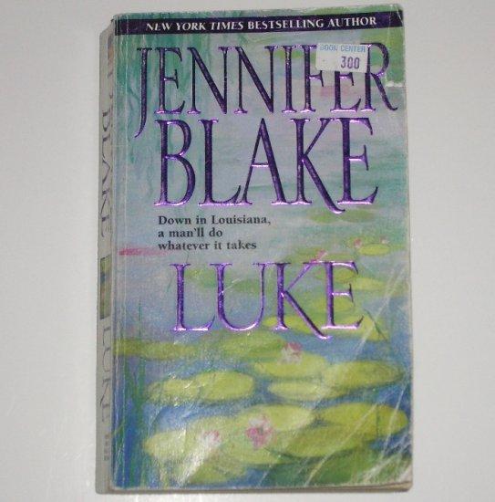 Luke by JENNIFER BLAKE Romance 1999 Louisiana Gentlemen Series