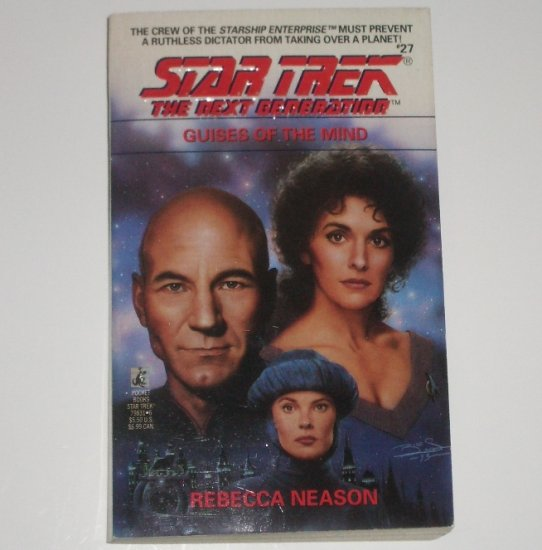 Guises of the Mind Star Trek The Next Generation TNG No 27 by REBECCA NEASON 1993
