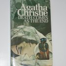 Death Comes as the End by AGATHA CHRISTIE Mystery 1971