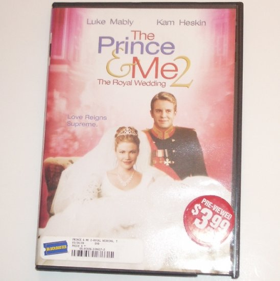 The Prince and Me 2 with LUKE MABLY, KAM HESKIN DVD
